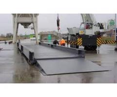U shaped beams weighbridges