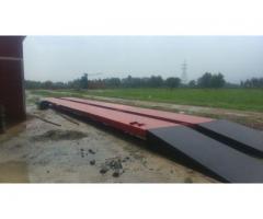 Weighbridge installation by Certified technicians