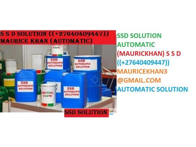 TRINITY SSD CHEMICAL SOLUTIONS LTD +27640409447