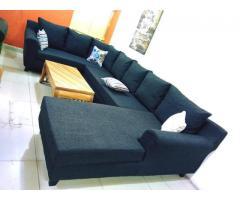 U-Shaped Sofa