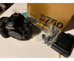 Cámara digital SLR Nikon D750