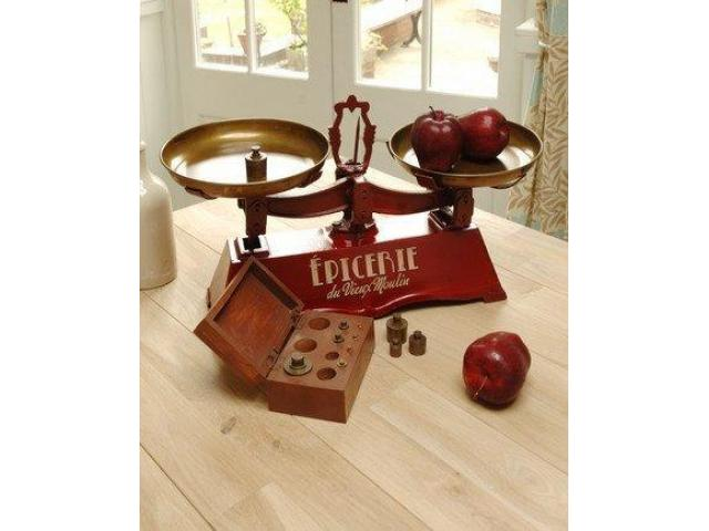 Vintage Kitchen Scales in East Africa