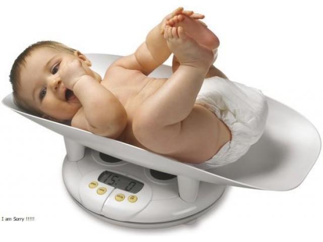Sensortronic Baby Scales in Uganda