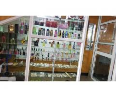Jewelry and cosmetics shop for sale on good will