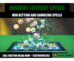 Lottery Spells to win betting in ug+256700968783