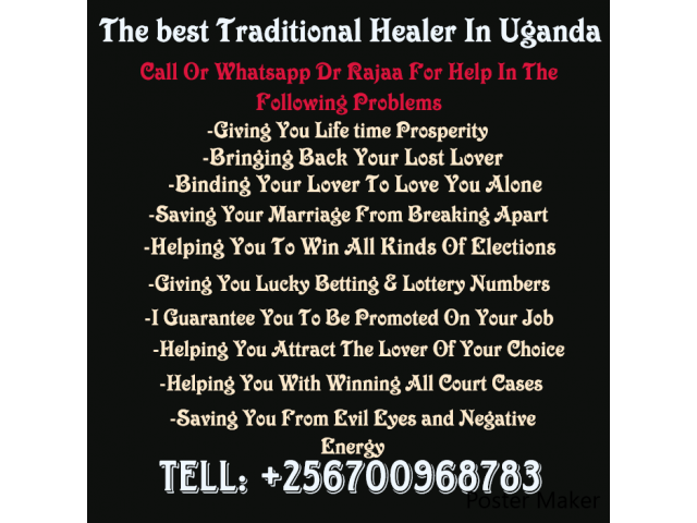 Consistent Traditional Healer In Ug+256700968783