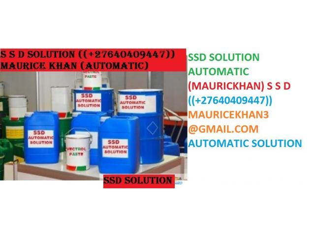 SSD CHEMICAL SOLUTIONS LTD +27640409447