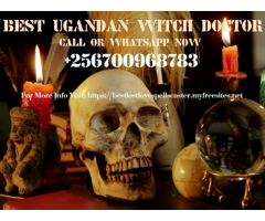 Most Powerful witch Doctor In Uganda +256700968783