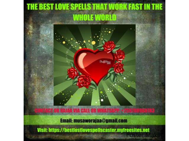 BINDING LOVE SPELLS IN UGANDA +256700968783