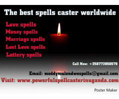 Best Spells Caster in Uganda +256772850579