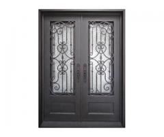 Wrought iron Quality doors