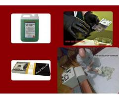 BLACK MONEY CLEANING  WITH SSD SOLUTION CHEMICAL