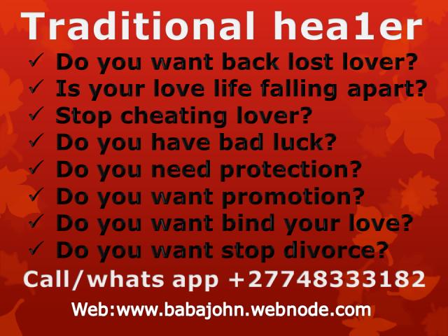 Love spell solution 0748333182in Gauteng