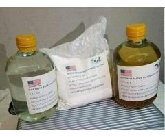 Chemicals for cleaning black money