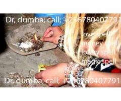 Remove all your charms with  +256780407791