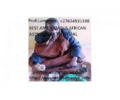BEST SPIRITUAL HEALER/ LOVE SPELLS +27634531308