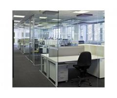 TEMPERED GLASS OFFICE PARTITIONING KAMPALA(U)
