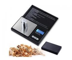 Mini gold and powder weighing scale