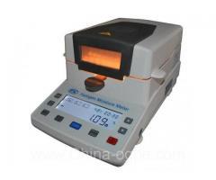 Halogen moisture meters