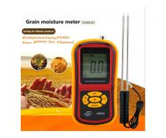Moisture meters for rice