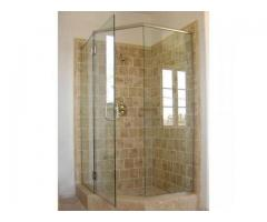 TEMPERED GLASS SHOWER CUBICLES(U)