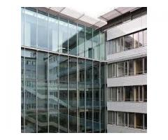 TOUGHENED GLASS FOR CURTAIN WALL SYSTEMS .