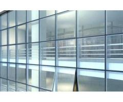 TOUGHENED GLASS CURTAIN WALL SYSTEMS KAMPALA(U)