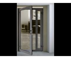 Single Hinged Aluminium Doors Kampala