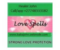 TRADITIONAL HEALER/LOST LOVE 0748333182
