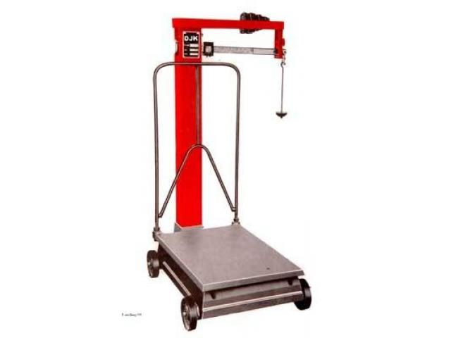 Manual mechanical industrial weighing scales