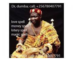 dumba witch doctor USA/Uganda +256780407791
