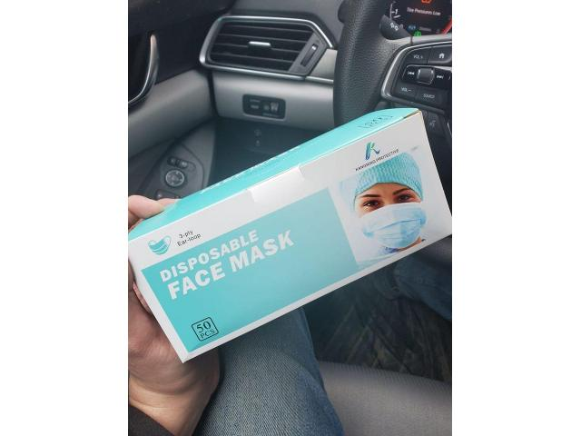3M 1860,FFP2 and 3 Ply Disposable Mask