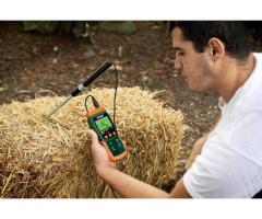 Moisture meter for organic fertilizer animal feed