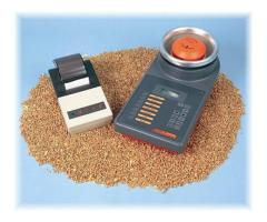 Moisture meters for cocoa and coffee bean