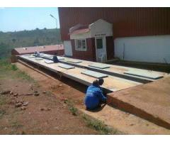Weighbridge installation by Certified technicians