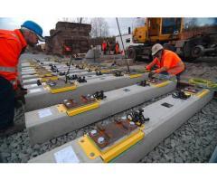 Weighbridge made of precast concrete