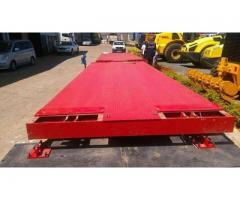 Weighbridge with Automatic barriers for sale