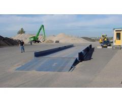 Simplified civil engineering for weighbridges