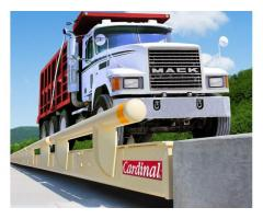 High-resistance low-profile weighbridges