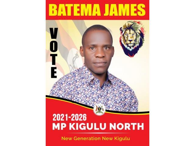 MP Kigulu North Constituency Batema James