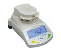 Touch screen halogen moisture analyzers