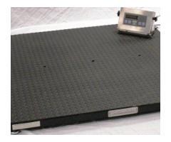 Electronic bench type iron cast platform