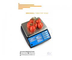 Suppliers of Brecknell Table tops