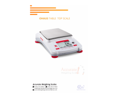 Suppliers of Ohaus Table top scales