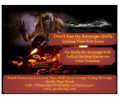 Revenge Spells to Punish Enemy Call +27836633417